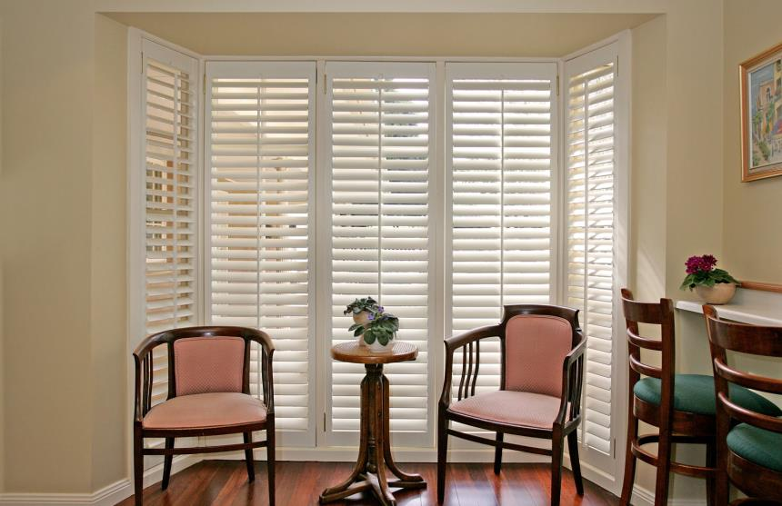 Open Shutters - Bay window beauty