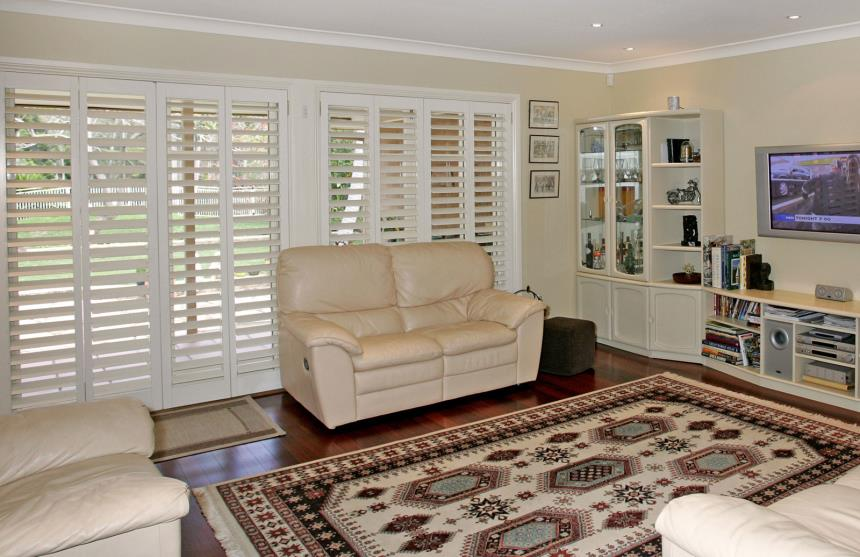 Open Shutters - Stylish fade protection