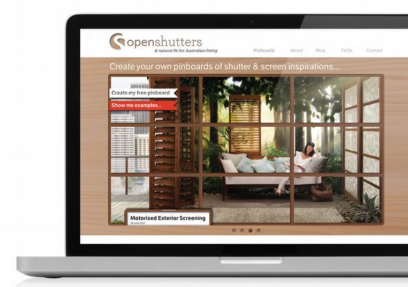exciting new site for open shutters